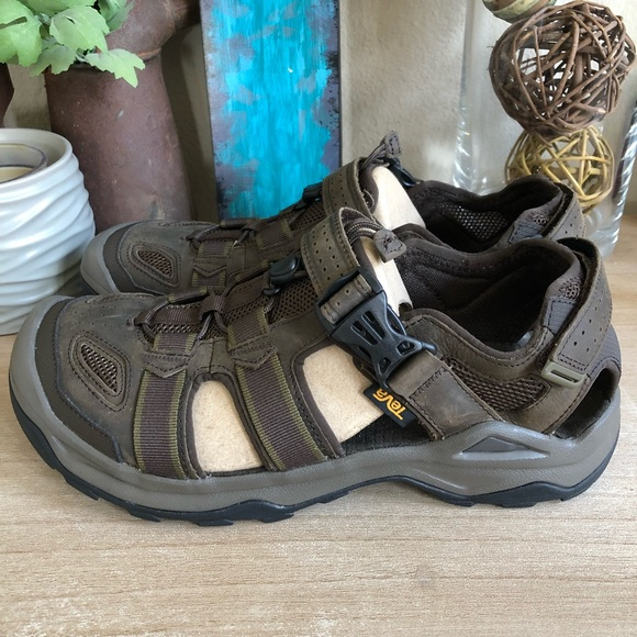 9055c9772 Teva Omnium 2 Leather Walking Sandal (Men s)